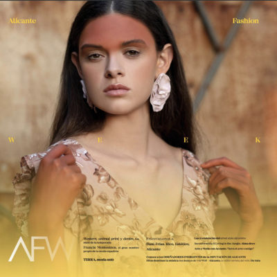 Evelin Martinez en la Revista AFW 18